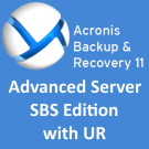 Acronis Backup & Recovery 11 Advanced Server SBS Edition with UR