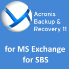 Acronis Backup & Recovery for MS Exchange for SBS