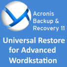 Acronis Backup & Recovery 11 Universal Restore for Advanced Workstation