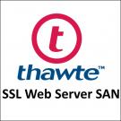 Thawte SSL Web Server SAN
