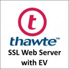 Thawte SSL Web Server with EV