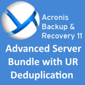 Acronis Backup & Recovery 11 Advanced Server Bundle with UR, deduplication