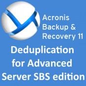 Acronis Backup & Recovery 11 Deduplication for Advanced Server SBS Edition