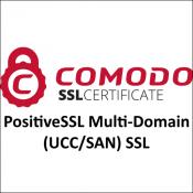 Comodo PositiveSSL Multi-Domain (UCC/SAN) SSL