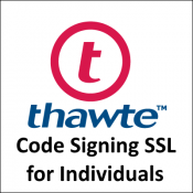 Thawte Code Signing SSL for Individuals