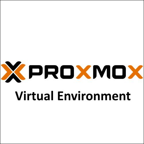 Proxmox Virtual Environment Простой