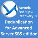 Acronis Backup & Recovery 11.5 Deduplication for Advanced Server