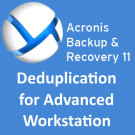 Acronis Backup & Recovery 11 Deduplication for Advanced Workstation