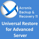 Acronis Backup & Recovery 11 Universal Restore for Advanced Server