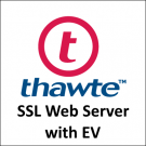 Thawte SSL Web Server with EV