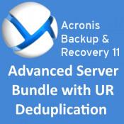 Acronis Backup & Recovery 11 Advanced Server Bundle with UR, deduplication