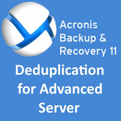 Acronis Backup & Recovery 11 Deduplication for Advanced Server